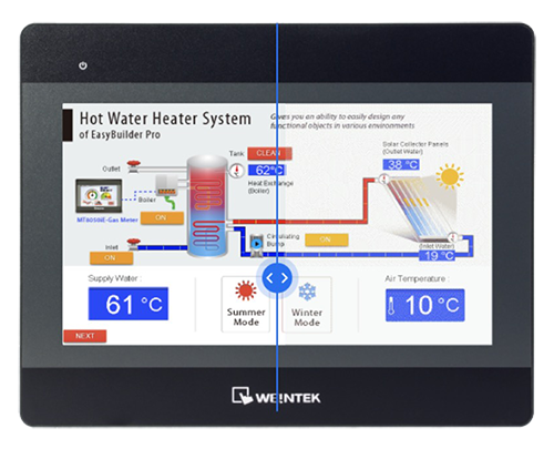 Weintek iP Serisi renkli ekranlar